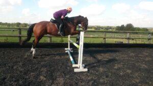 Teresa & Corky doing Tim's exercise