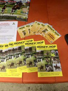 Honeychop leaflets & Welsh Rider Magazines