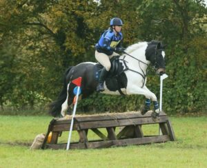 Laura & Mikey on XC course