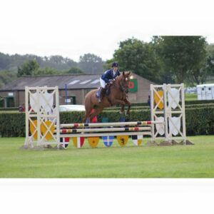 Sam competing on Chester