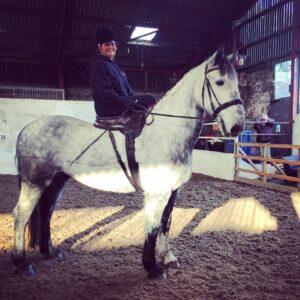 Side Saddle!