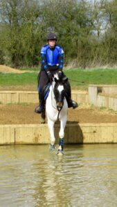 Dropping in to the water XC Schooling