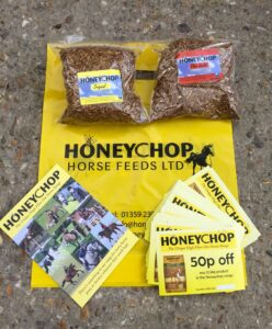 Honeychop goody bags