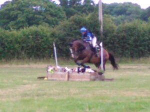 Corky & I out on the XC